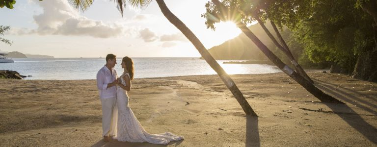 wedding services at our St Lucia beach resort