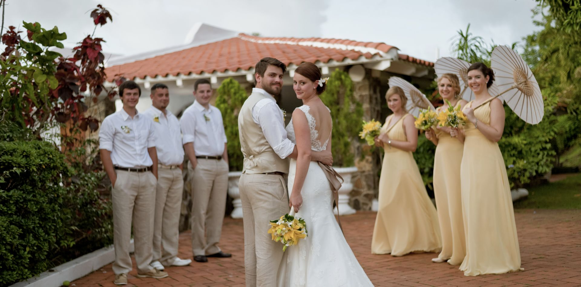wedding venues in St Lucia beach resort